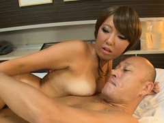 Overwhelming japanese chick Michiru Ogawa enjoys sex