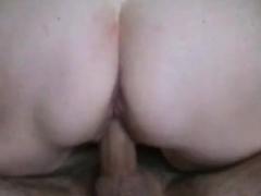homemade – sexy closeup fucking with creampie
