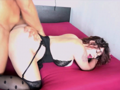 GERMAN SAGGY TITS HOOKER Teen Fucked and his Friend film it