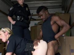 The police sees a robbery suspect in a truck.