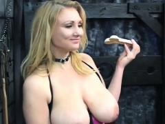Tasty floozy is sometimes using a sex tool