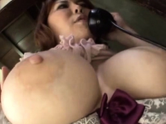 Smokin' sexy fetish sex with a mature japanese wench