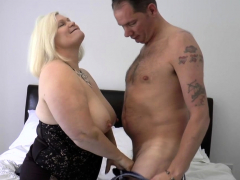 Pussy licked brit granny sucks and rides