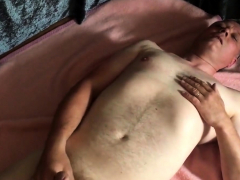 Chubby and Daddy playing