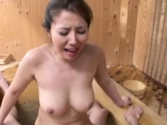 Asian doxy loves to ride schlong