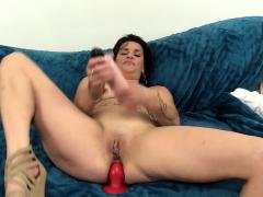 older-michele-marks-anal-masturbation