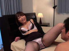 japanese-yui-ayana-is-gently-sniffing-dick-uncensored