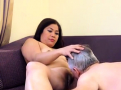 Amateur Asian Milf Riding Face
