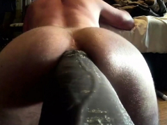 Mr. Hankeys El Rey 12 inch Cock Fucking Me Deep