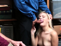 Short hair blonde babe and mature gloryhole fuck Suspect