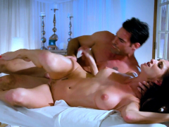 Cougar masseuse spoon fucked after massage