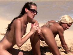 Lesbian Beachfront Shoot
