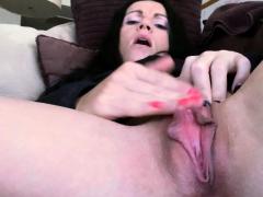 Huge Clit Fitness Milf Masturbates To Pulsating Orgasm