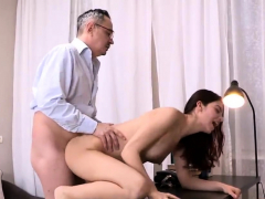 sensual schoolgirl gets teased and plowed by senior t13pqj