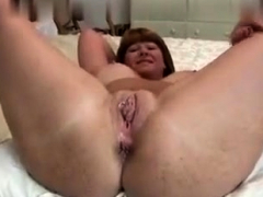 Anal creampie for gaping redhead amateur