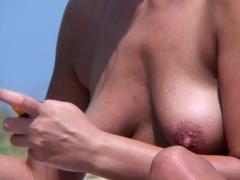 public nude beach voyeur amateur close-up nudist vagina video Striptease