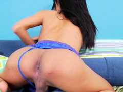 Sexy Ladyboy Fluk Loves To Jerk Off