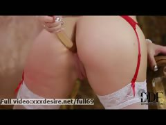 Roxy Mendez _ Very Sexy Redhead Babe Masturbating Her Ass