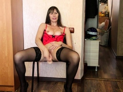 horny-stepmom-in-stockings-uses-a-dildo