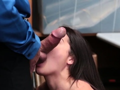 Almost got caught and cop blowjob xxx LP Officer needed