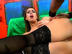 Ani BlackFox MILF swallows extreme facial GermanGooGirls