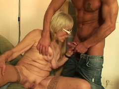 son-in-law-fucks-old-girlfriends-mother-on-the-table