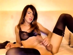 tranny Cindy Bianco webcam show