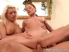 Threesome Sex Party With Blondie Part3