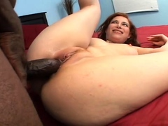 Interracial hardcore with blowjob