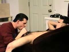 Straight Boy Paulie Licks Cock