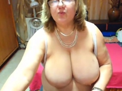 huge tit mature with a nice big ass