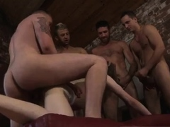Ukraine thugs hunter gay James Gets His Sold Hole Filled!