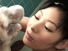 uncensored-tiny-japanese-teen-soapy-handjob-in-shower