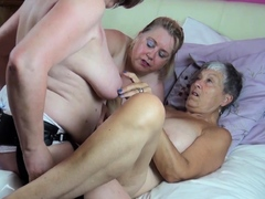 oldnanny three busty mature lesbians banging toys Hot