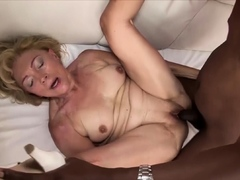 Old Mom First Rough Interracial Fucking
