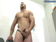 muscle-gay-touching-his-firm-ass