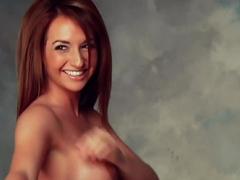 sexy brunette milf model striptease Striptease