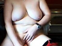 Fat girl masturbation
