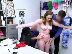 Samantha Reigns submits to a humiliating cavity search