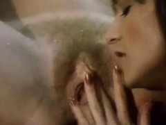 Classic Lesbians Pussy Licking Outdoors
