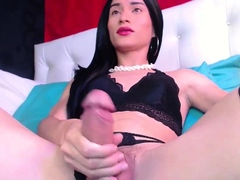 Amazing Monster Shaft TBabe in Stokings on Webcam Part 4