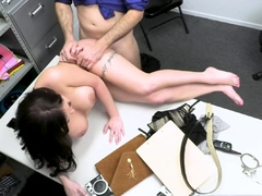 Macey Jade Caught and Banged by Perverted Officer