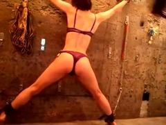 Flogging A Japanese Milf