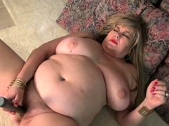 Big Mom With Saggy Big Tits And Hairy Pussy