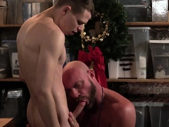 Tiny smooth twink athletically fucks his teacher at school