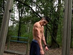 Muscle Worship - Jared Shaw