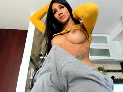 tranny-with-big-tits-jerking-off-her-big-cock