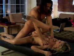 Brooke Banner swallows Nick Mannings loads boned