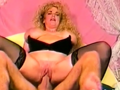 Classic Porn With Busty MILF Babe