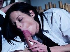 Daniella Rose anal date with her teacher during the night